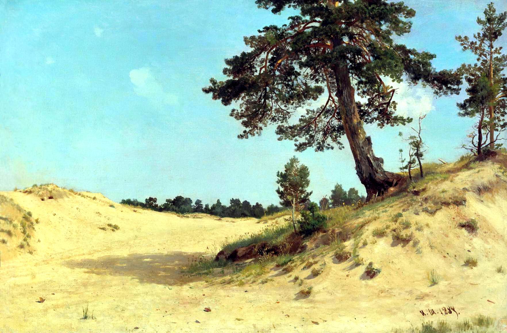 Ivan Shishkin Paintings