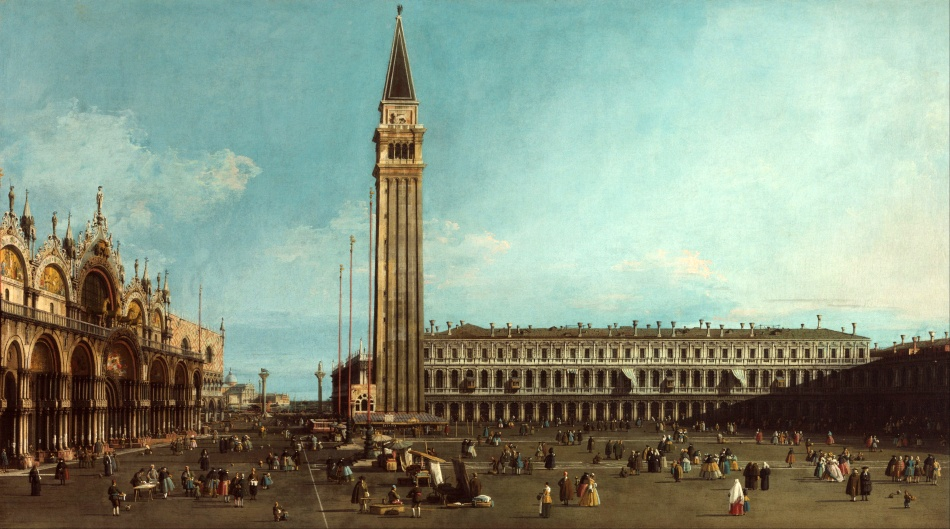 Canaletto_-_The_Piazza_San_Marco,_Venice_-_Google_Art_Project