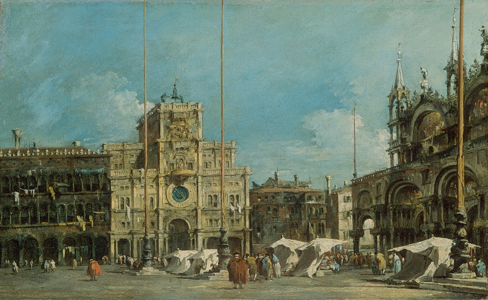 Francesco_Guardi,_The_Torre_dell'Orologio_in_Piazza_San_Marco