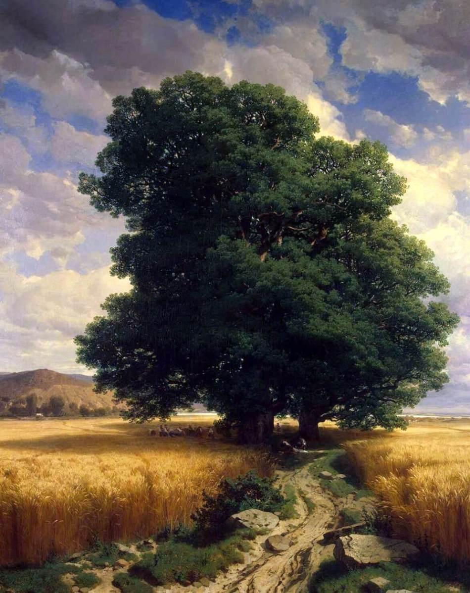 Alexandre_Calame_-_Landscape_with_Oaks_-_WGA3764