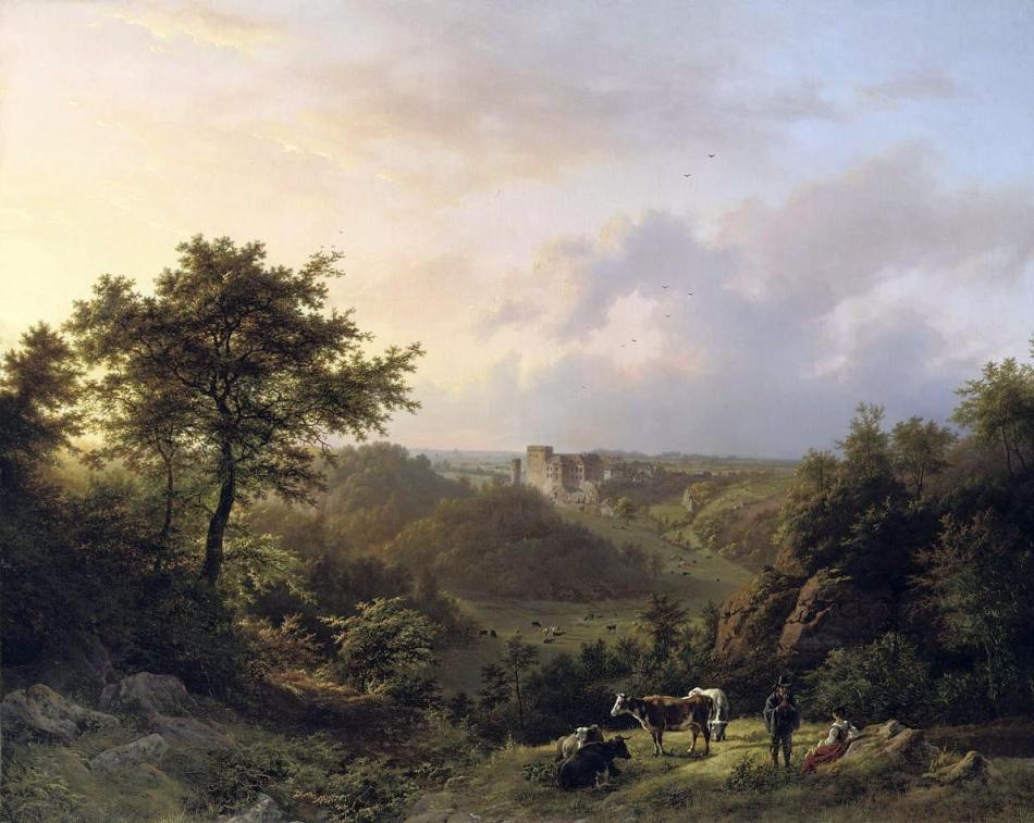 B.C.Koekkoek - Luxemburg Landschapschilder 3