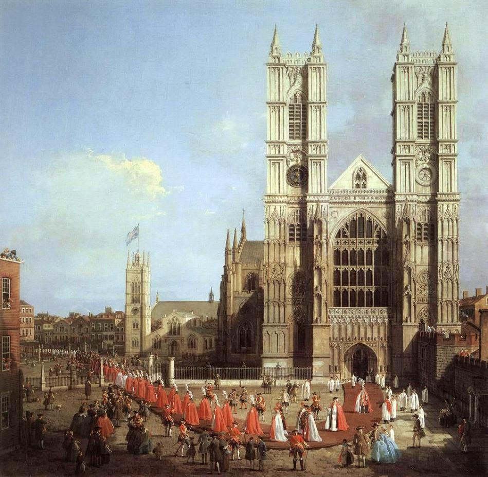 westminster-abbey-with-a-procession-of-knights-of-the-bath-1749