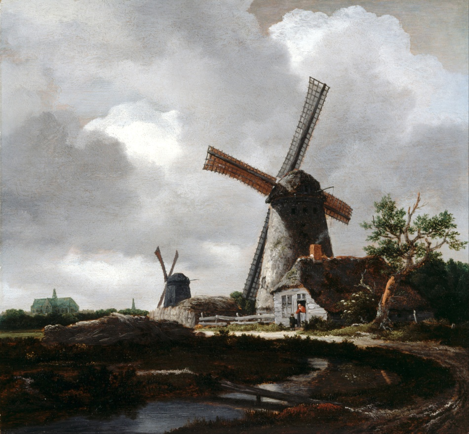 Van_Ruisdael,_Jacob_-_Landscape_with_Windmills_near_Haarlem_-_Google_Art_Project