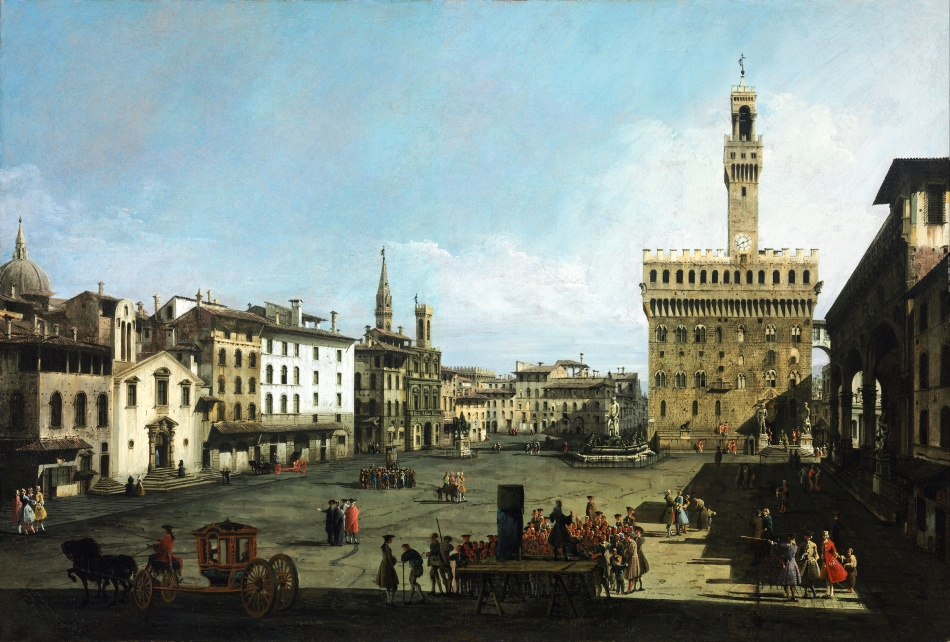 Bernardo_Bellotto_-_The_Piazza_della_Signoria_in_Florence_-_Google_Art_Project