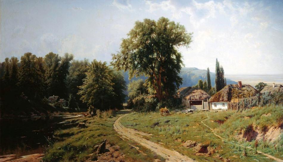 KonstantinKryzhitsky_HutorVMalorossii_1884