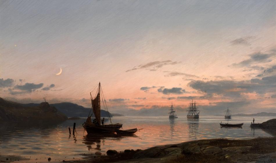Amaldus_Nielsen_-_Aftenstemning_(1878)