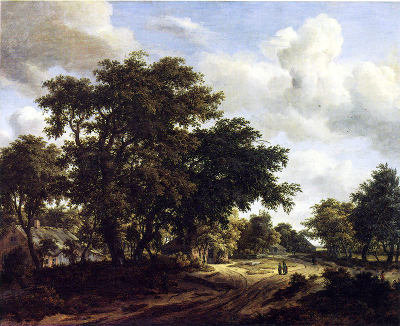meindert_hobbema_wooded_road