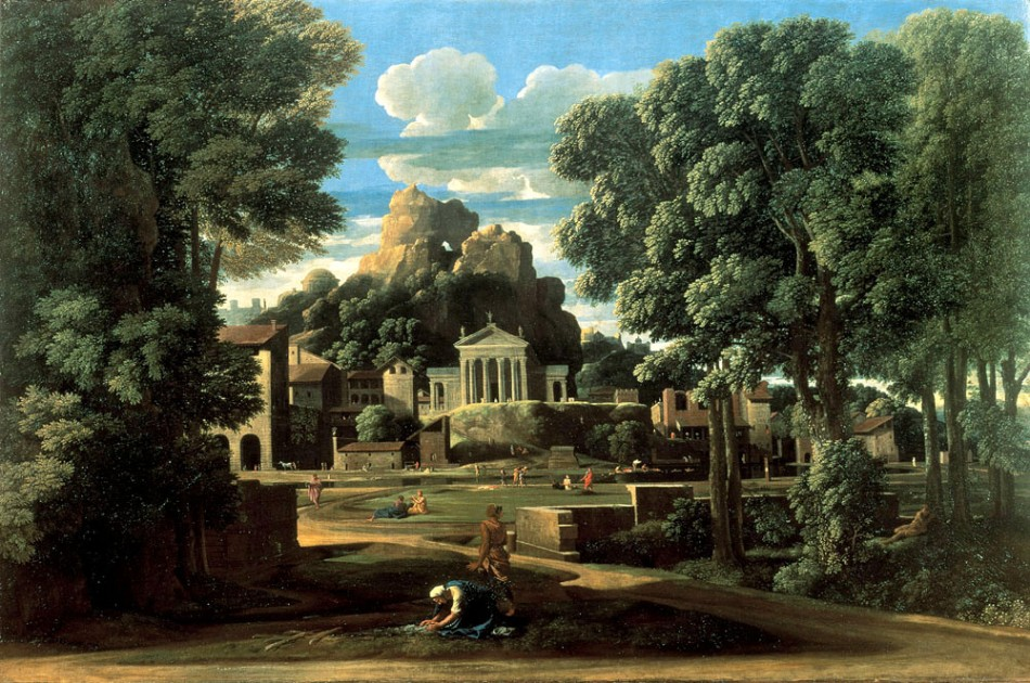 the-gathering-of-the-ashes-of-phocion-by-his-widow-nicolas-poussin-1648