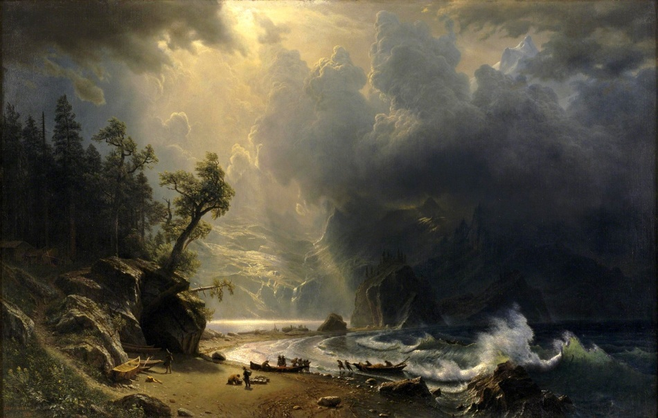 Albert_Bierstadt_-_Puged_sound_of_the_Pacific_coast_(1870)