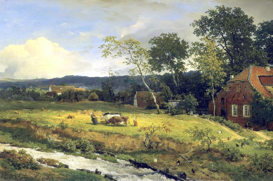 Andreas_Achenbach_-_Landschaft_in_Hessen