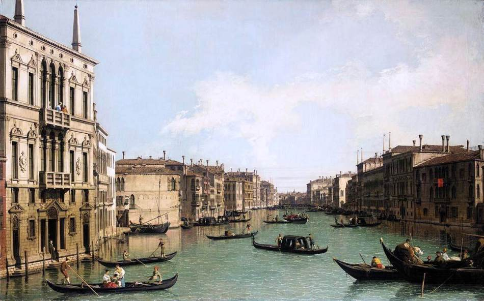 venice-the-grand-canal-looking-north-east-from-palazzo-balbi-to-the-rialto-bridge