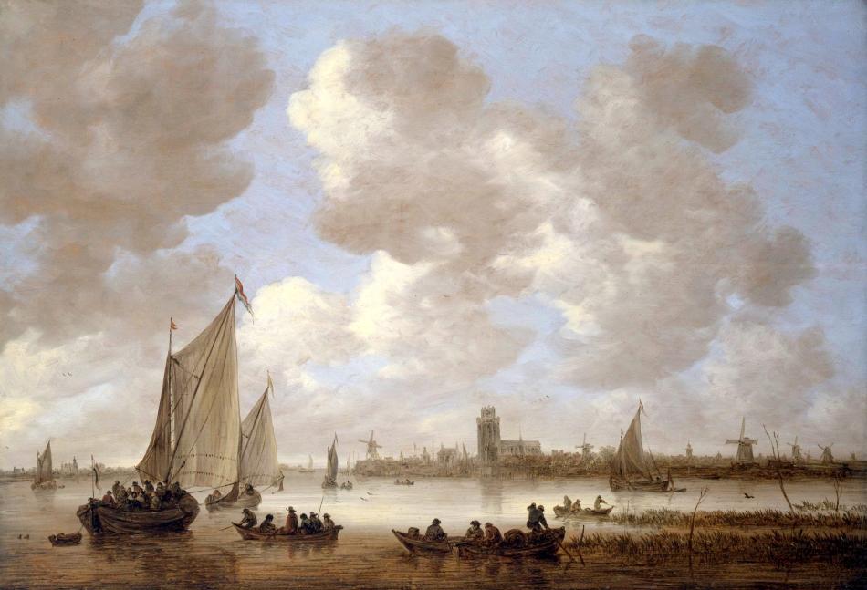 Goyen, J. van, Gezicht op Dordrecht