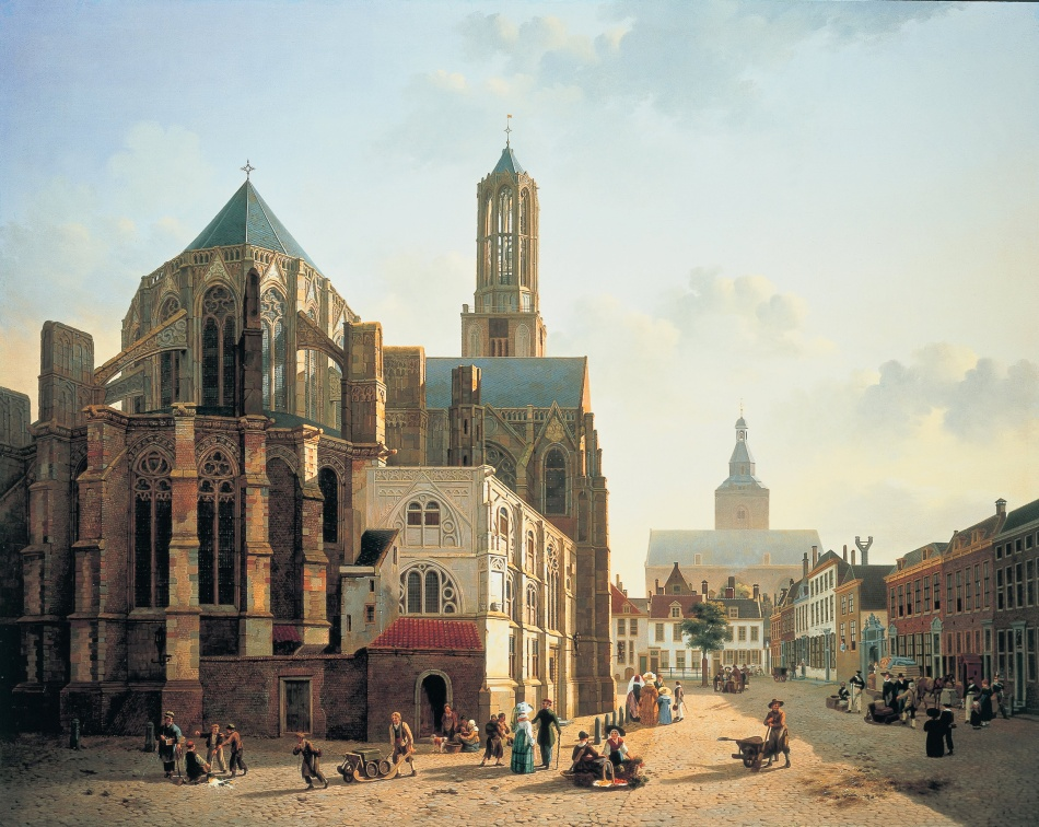 Jan_Hendrik_Verheyen_-_View_of_the_choir_and_tower_of_Utrecht_Cathedral_-_Google_Art_Project