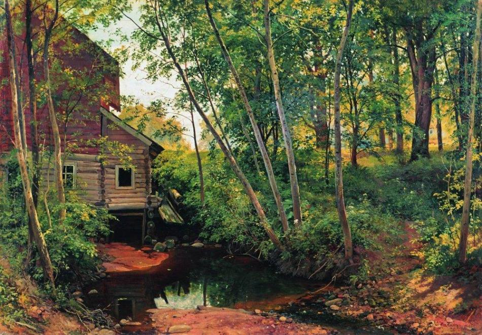 1897 Mill in the Forest, Preobrazhenskoe