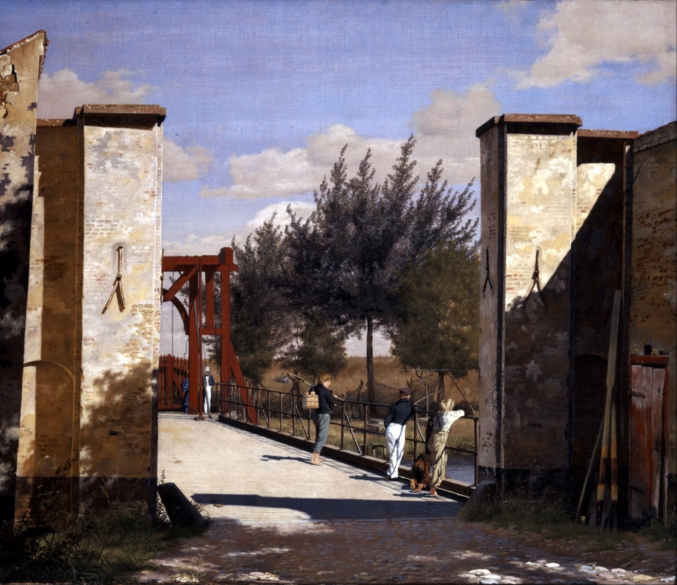Christen_Købke_-_The_North_Gate_of_the_Citadel_-_Google_Art_Project