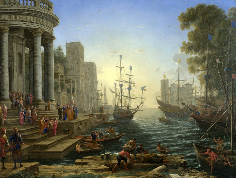 Claude_Lorrain_-_Seaport_with_the_Embarkation_of_Saint_Ursula
