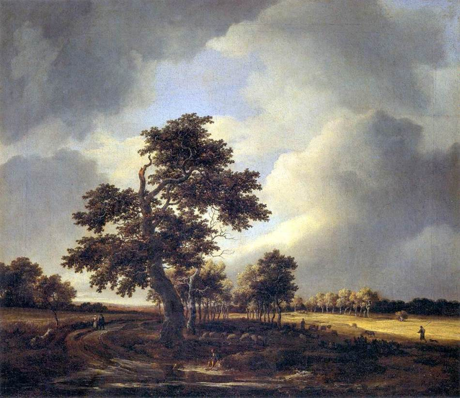 Jacob_Isaacksz._van_Ruisdael_-_Landscape_with_Shepherds_and_Peasants_-_WGA20501