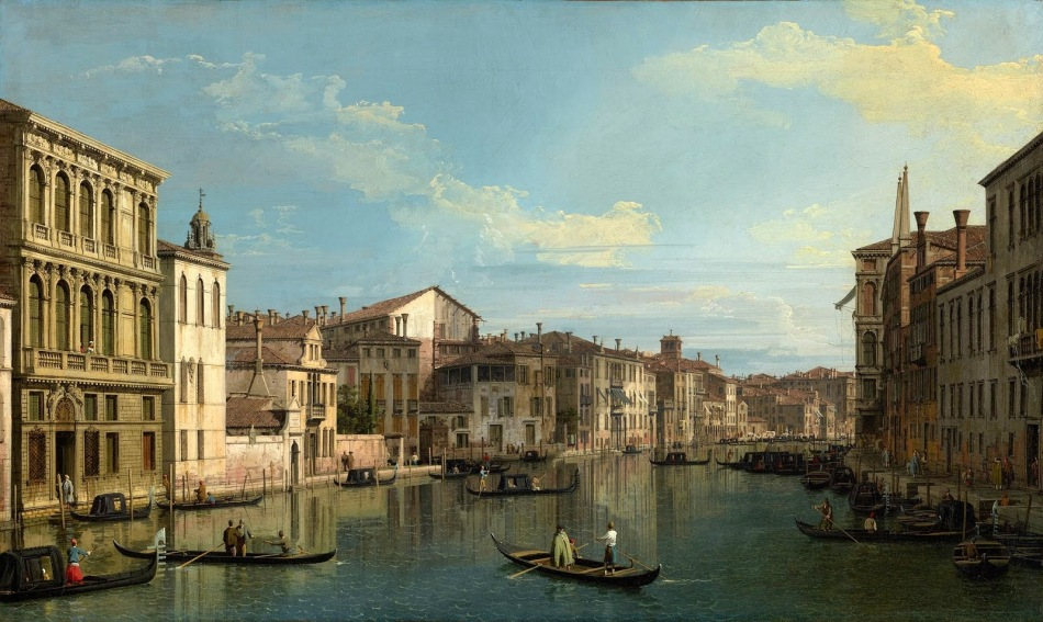 Canaletto_Grand_Canal_from_Palazzo_Flangini_-_JPGM