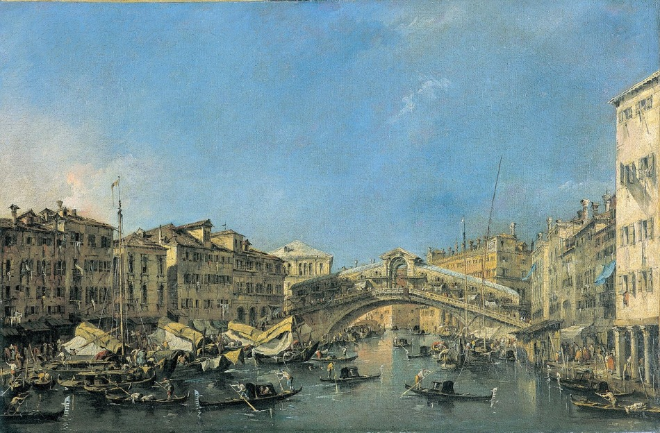 francesco guardi-p.rialto grande