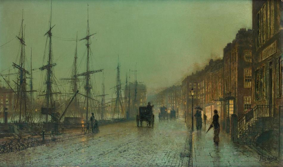 John_Atkinson_Grimshaw_Glasgow_Docks_1881