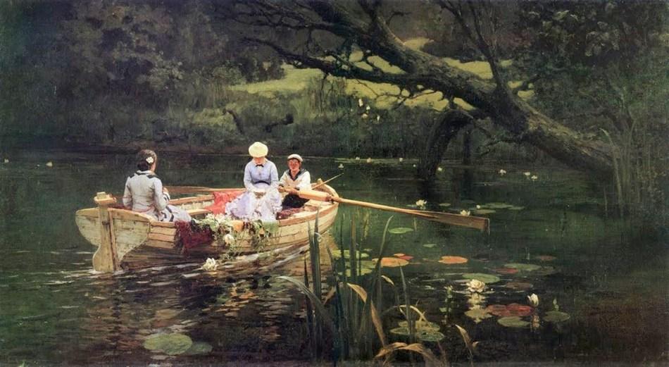 Vasily Polenov - On the Boat