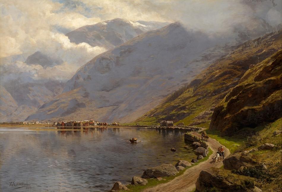 Themistokles_Eckenbrecher_Laerdal_Soeren_Fjord_1908