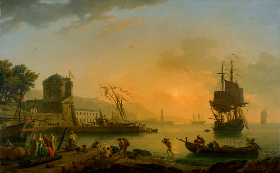 Vernet_A-Grand-View-of-the-Sea-Shore-Enriched-with-Buildings-Shipping-and-Figures