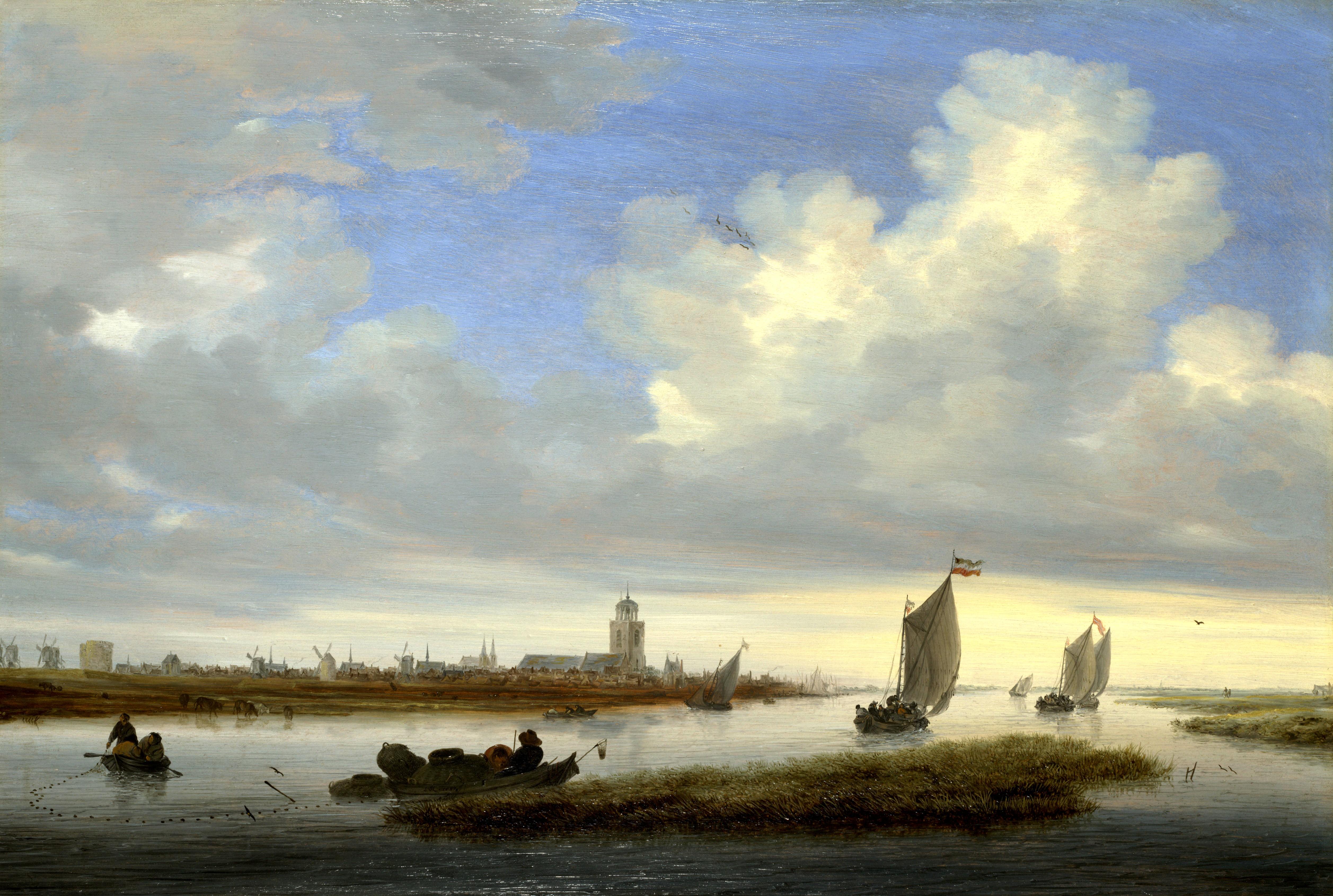 Salomon_van_Ruisdael_Deventer
