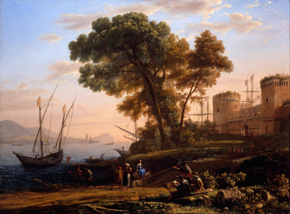Claude_Lorrain_-_An_Artist_Studying_from_Nature_-_Google_Art_Project