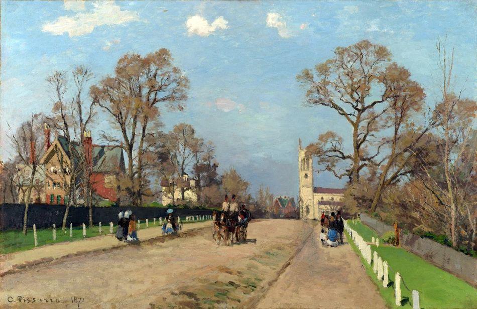 1280px-Camille_Pissarro_-_The_Avenue,_Sydenham_(1871)