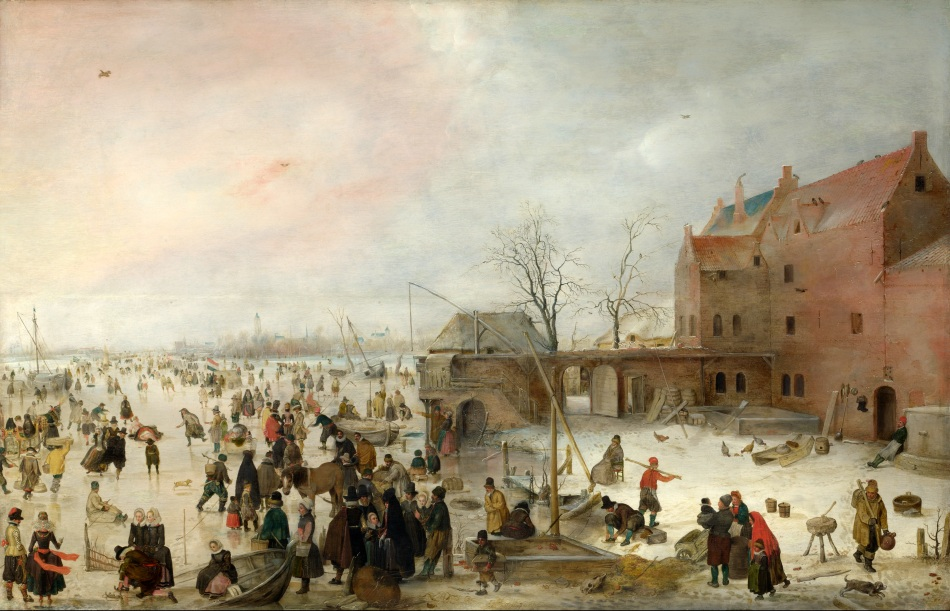 Hendrick_Avercamp_-_A_Scene_on_the_Ice_near_a_Town_-_WGA1075