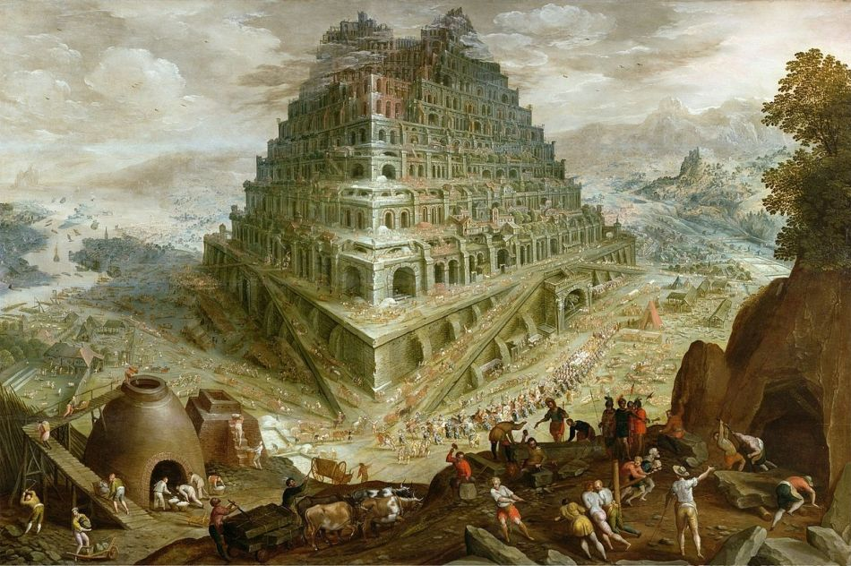 Marten van Valckenborch the Elder – Towneley Hall Art Gallery & Museum. Title: The Building of the Tower of Babel. Date: c. 1600. Materials: oil on panel. Dimensions: 105 x 152 cm. Nr.: ? Source: http://commons.wikimedia.org/wiki/File:Valkenborch_babel-tower.jpg.