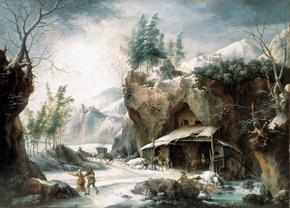 Francesco Foschi – Maison d'Art in Monaco. Title: The Calèche in Front of the Shepherd's Hut. Date: c. 1755-1780. Materials: oil on canvas. Dimensions: 124 x 175 cm. Source: http://www.oldmasters.com/IMG/jpg/foschi_caleche.jpg.