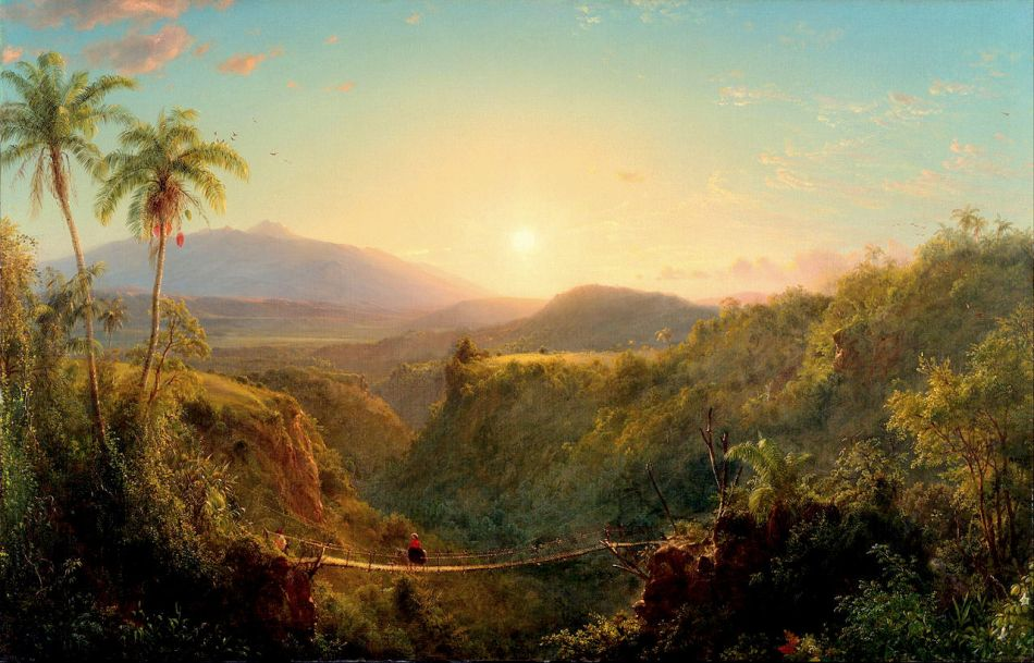 Frederic Edwin Church – Philadelphia Museum of Art 2004-115-2. Title: Pichincha. Date: 1867. Materials: oil on canvas. Dimensions: 78.7 x 122.4 cm. Nr.: 2004-115-2. Source: https://commons.wikimedia.org/wiki/File:Frederic_Edwin_Church,_American_-_Pichincha_-_Google_Art_Project.jpg. I have changed the light, contrast and colors of the original photo.