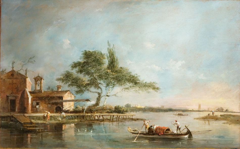 Francesco Guardi – Fogg Museum 1959.185. Title: The Isola della Madonnetta on the Lagoon of Venice. Date: c. 1785-1790. Materials: oil on canvas. Dimensions: 35.6.1 x 55.2 cm. Nr.: 1959.185. Source: http://ids.lib.harvard.edu/ids/view/14830596?width=3000&height=3000.
