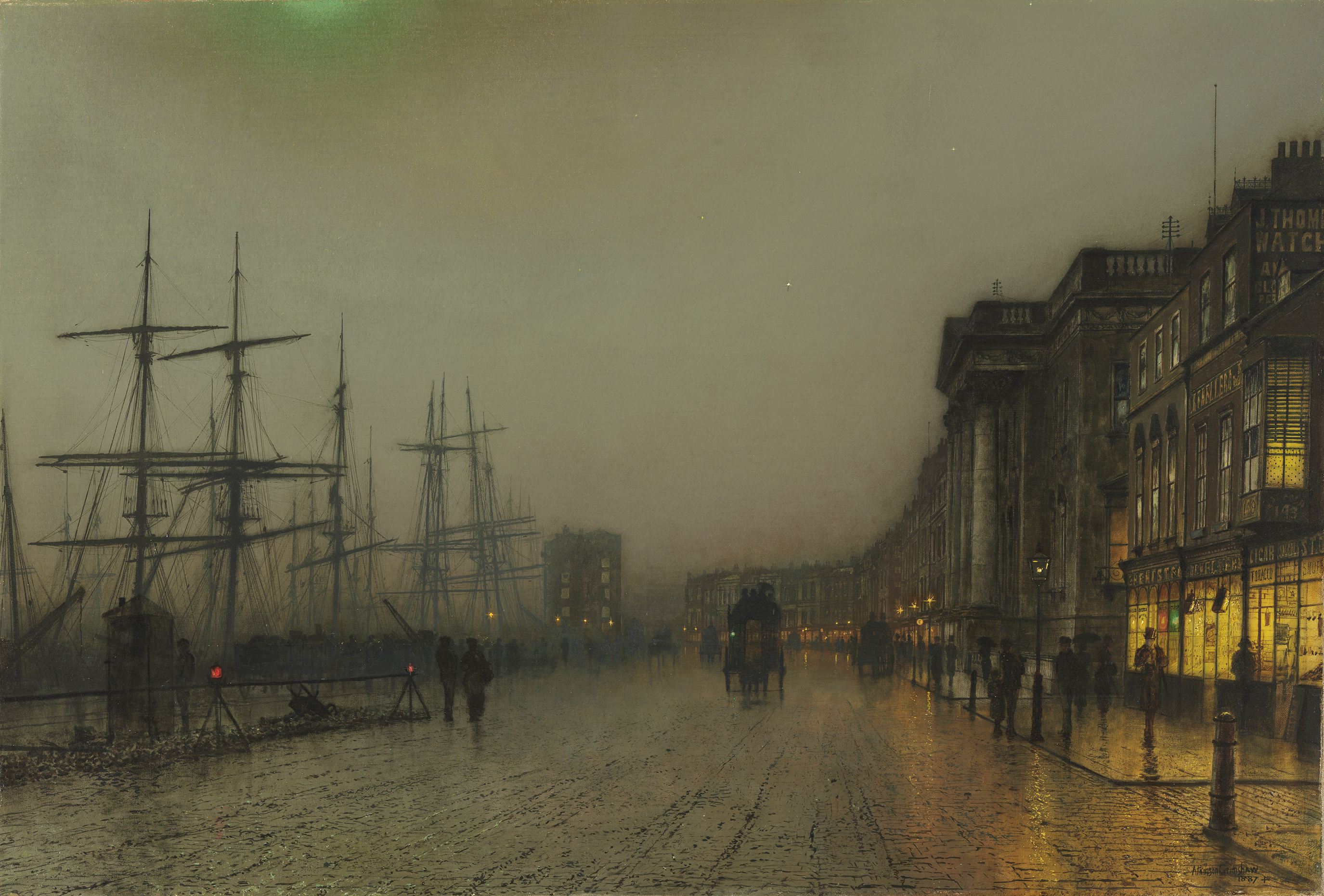 john atkinson grimshaw u carmen collection on loan at the museo ctb canny glasgow